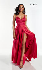 1624 Prom Dress Fuchsia