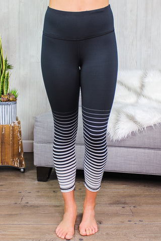 Allie Striped Leggings