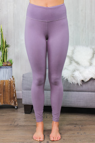 Kelsey Butter Soft Leggings Frosted Mulberry