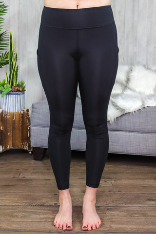Kam Compression Leggings Black