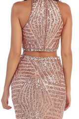 7338 Formal Dress - Tickled Pink Boutique Mitchell