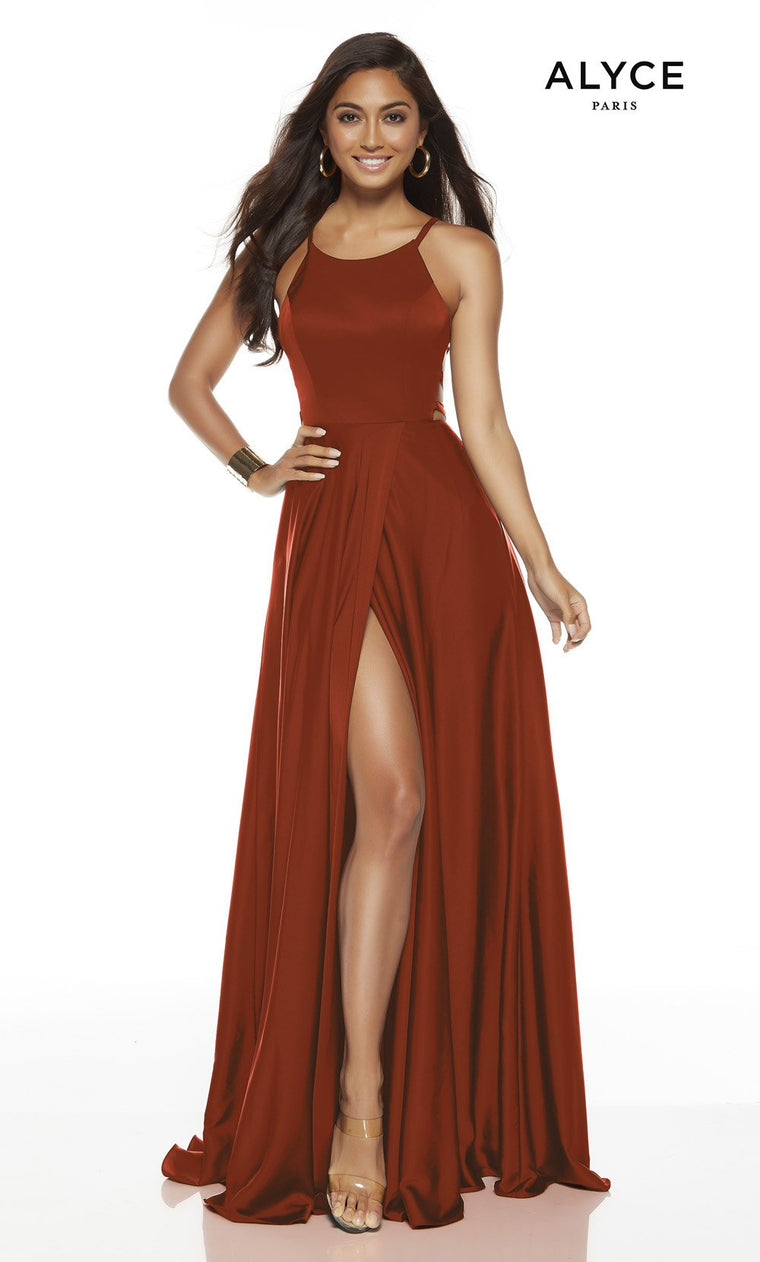 60780 Prom Dress Cinnamon
