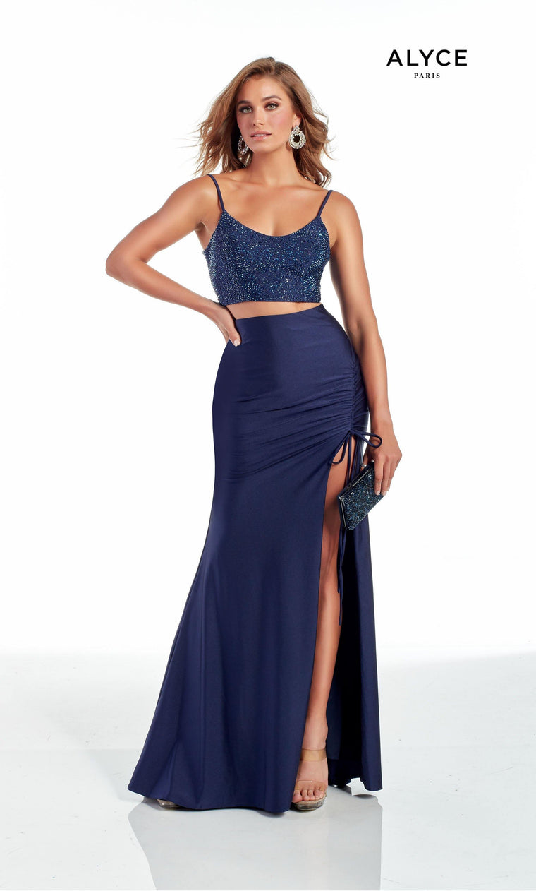 60963 Prom Dress Midnight