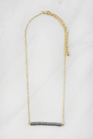 Sequin Bar Necklace