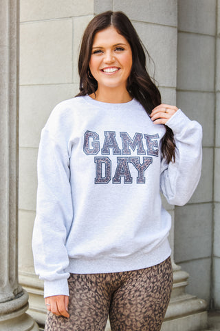 Leopard Game Day Sweatshirt