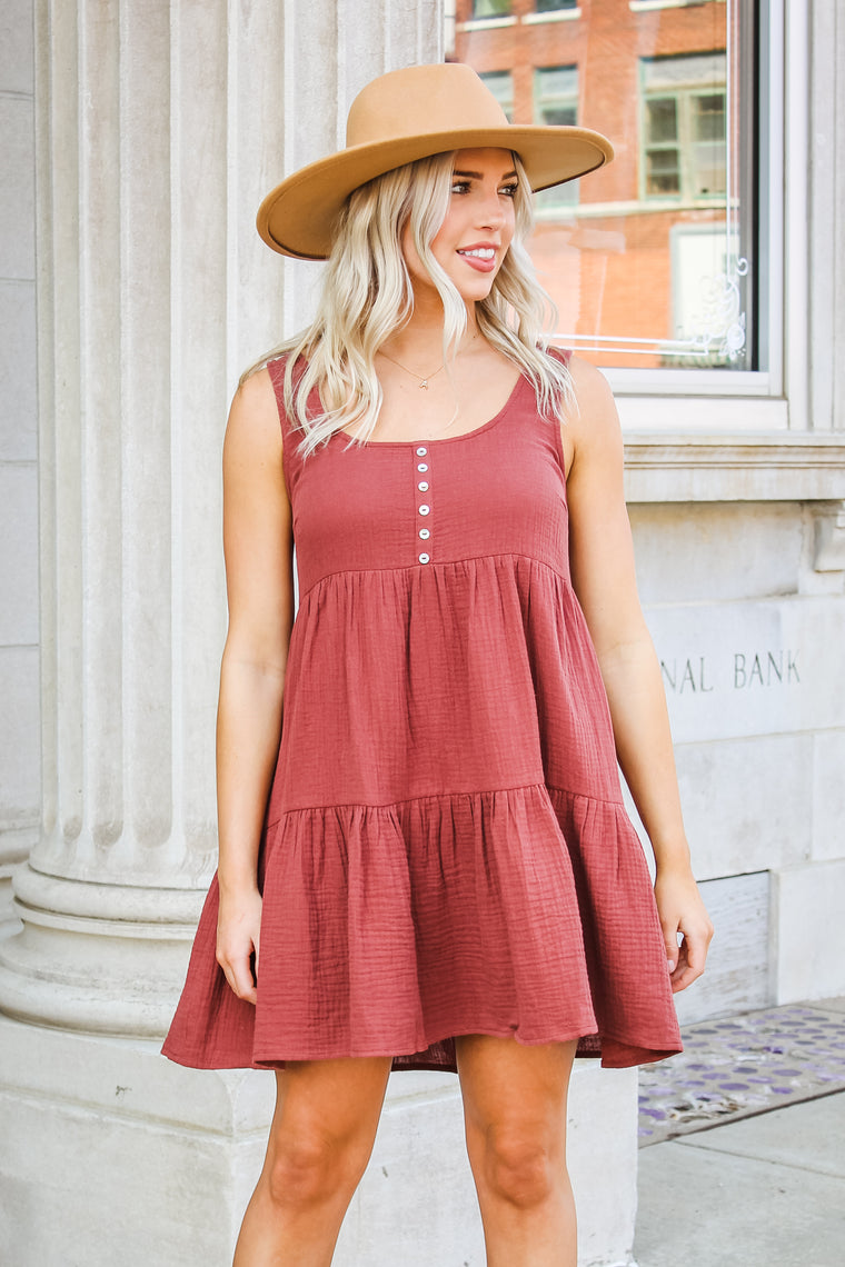 Kirsten Button Down Dress