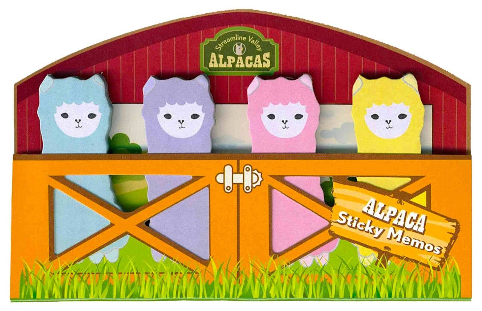 Alpaca Sticky Memo Tags
