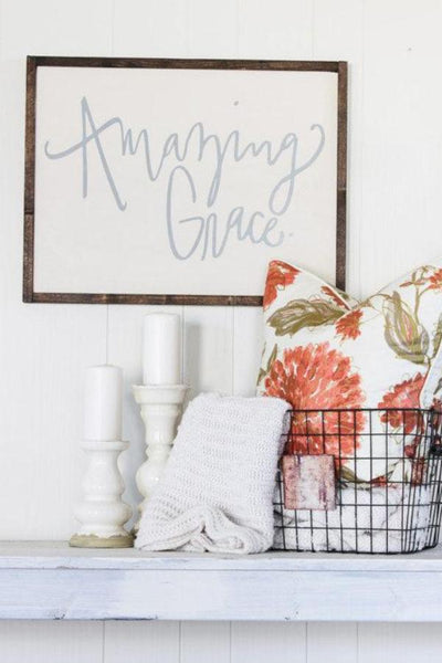 Amazing Grace Sign - Tickled Pink Boutique Mitchell