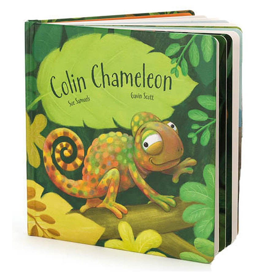 Colin Chameleon Board Book