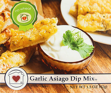 Garlic & Asiago Dip Mix