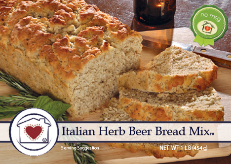 Italian Herb Bread Mix - Tickled Pink Boutique Mitchell
