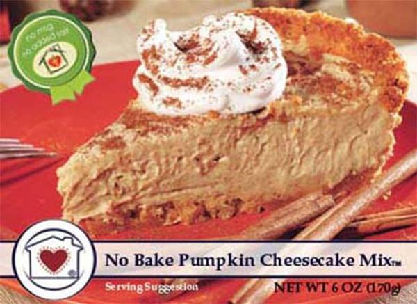 No Bake Pumpkin Cheesecake - Tickled Pink Boutique Mitchell