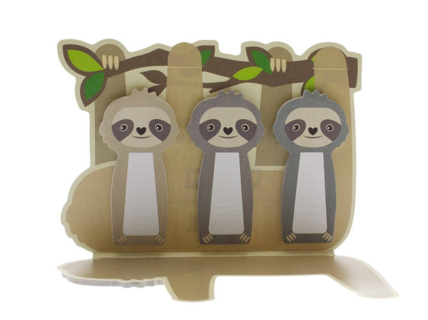 Sloth Sticky Memo Tabs