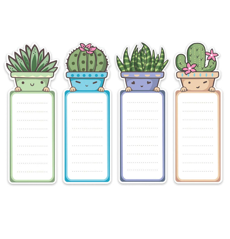 Succulent Magnetic Notepad