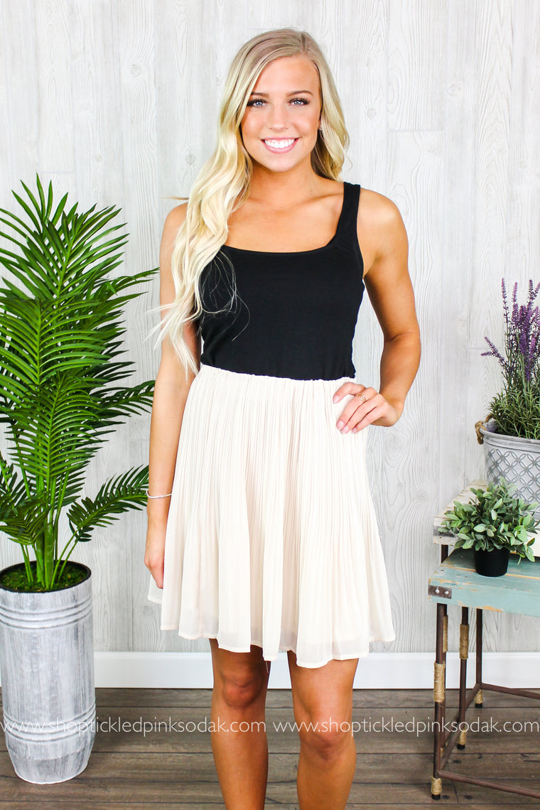 Zoey Pleated Skirt