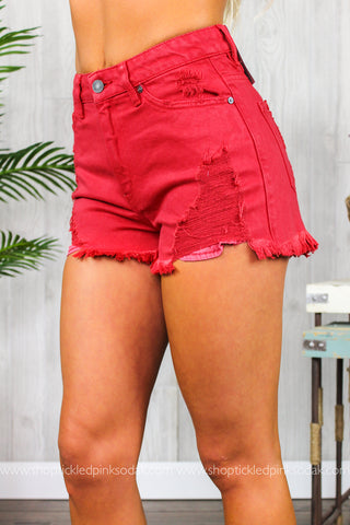 Natalie High Rise Shorts