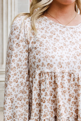 Aspyn Tiered Floral Top
