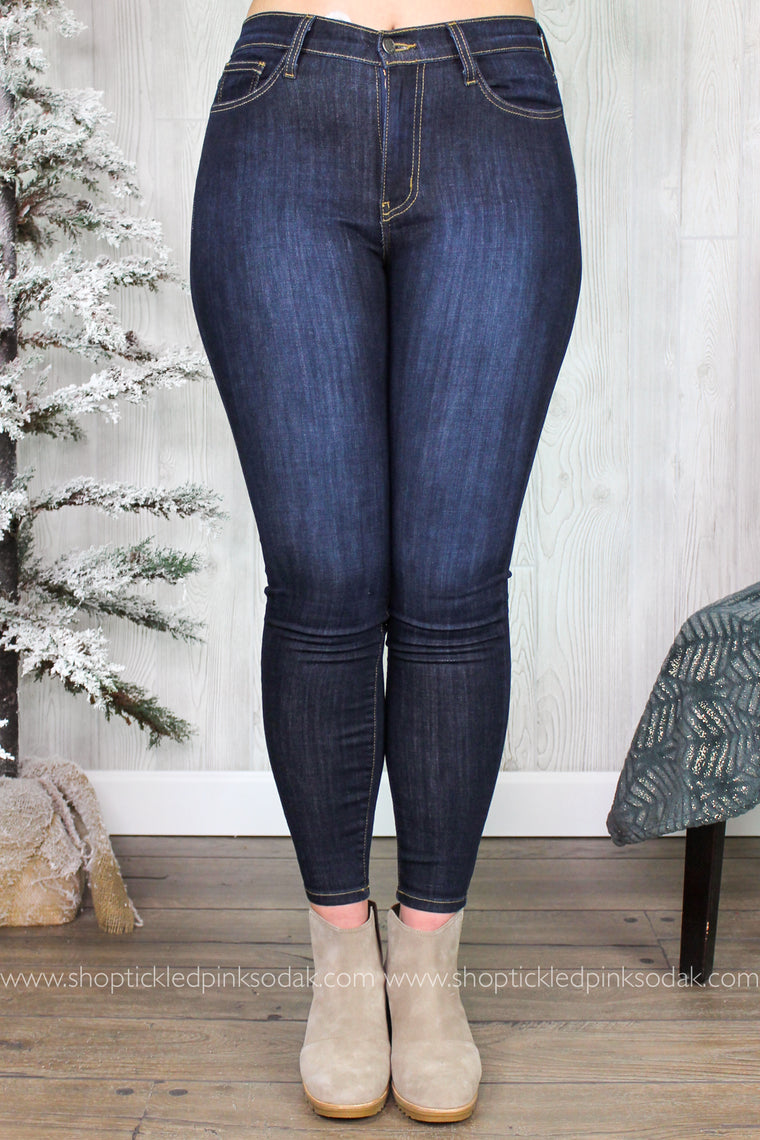 Piper High Waist Skinny Jeans Plus