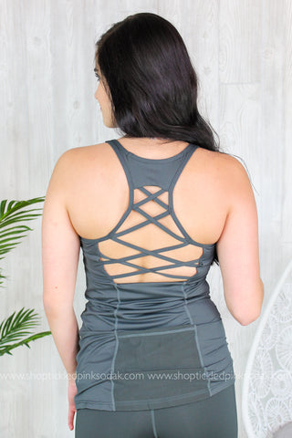 Piper Mesh Pocket Tank