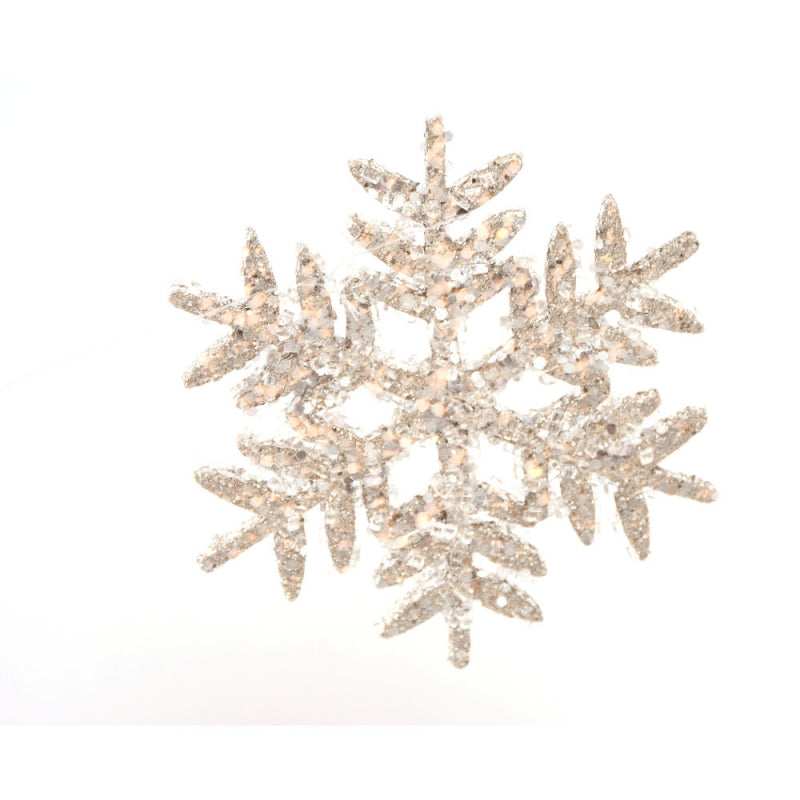271853 Iced Snowflake Ornament