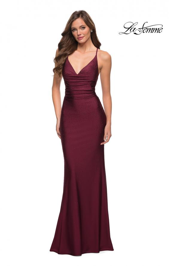 29935 Prom Dress Dark Berry