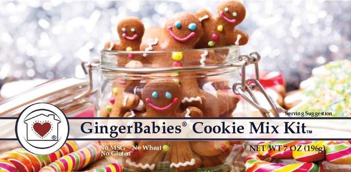 Gingerbabies Cookie Mix Kit