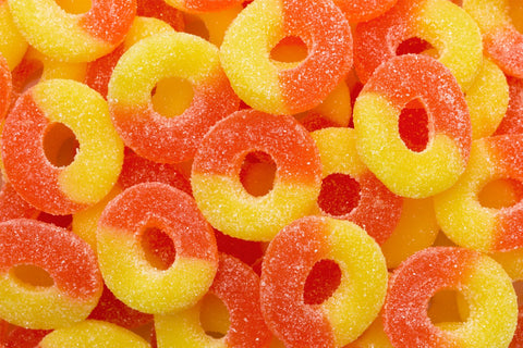 Gummi Peach Rings - Tickled Pink Boutique Mitchell