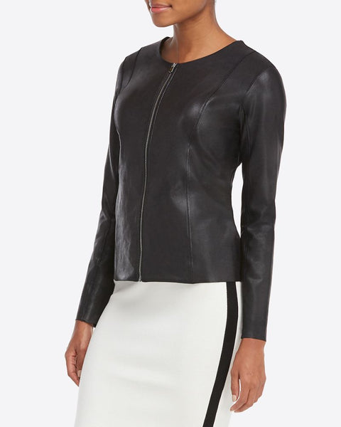 Spanx Faux Leather Jacket