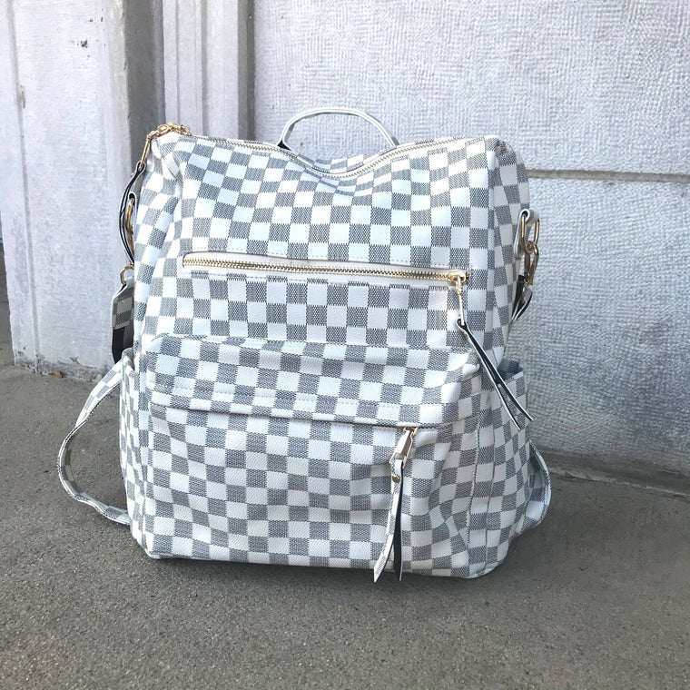 Claudia Backpack White