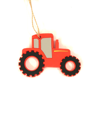 Silicone Teether Tractor