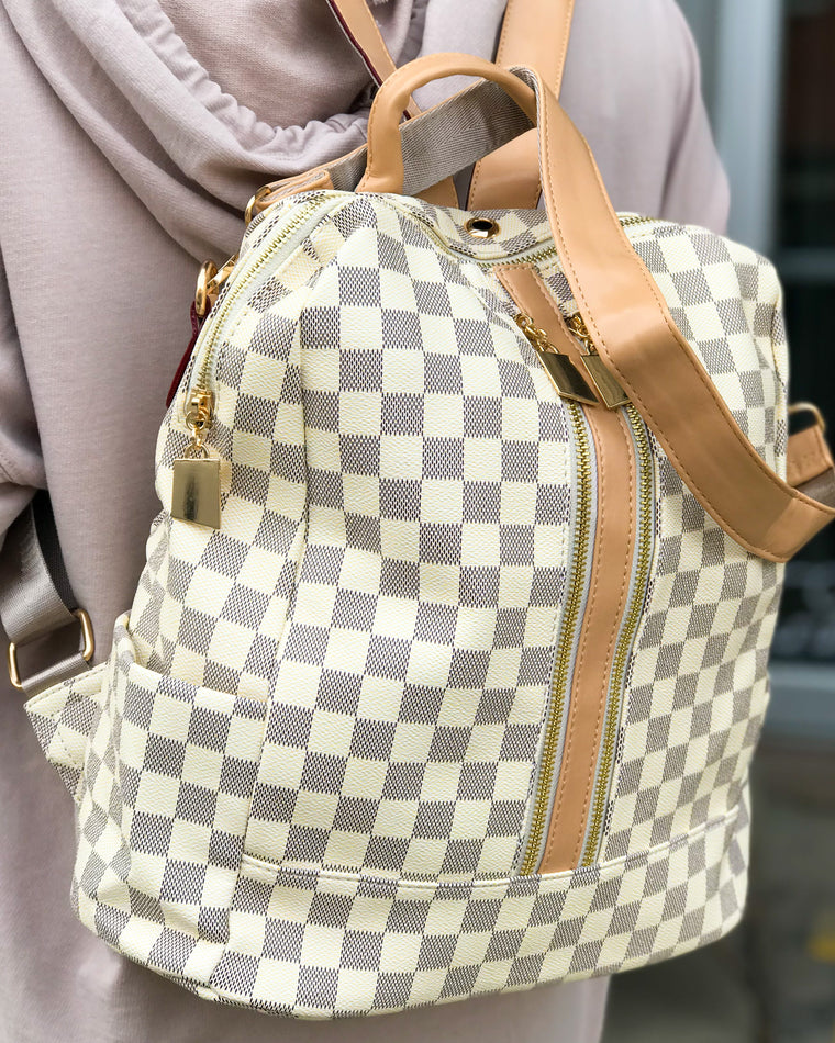 Libby Backpack Set White