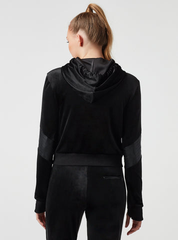 INTERPOL CROPPED HOODY