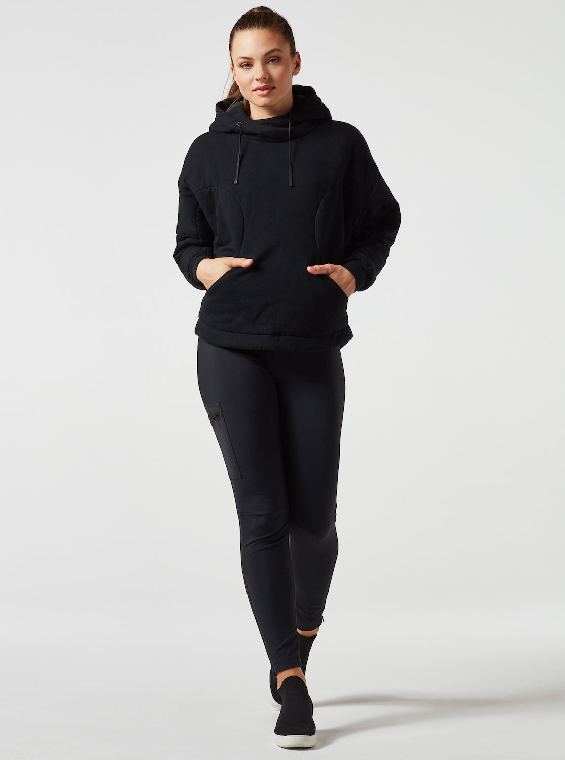 PULLOVER THIN DOWN HOODY