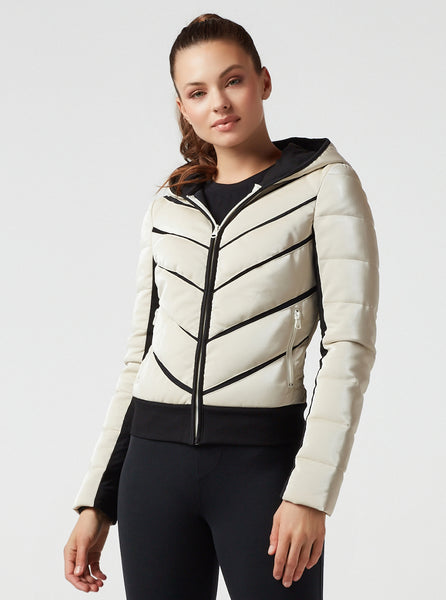 FREESTYLE MESH INSET PUFFER