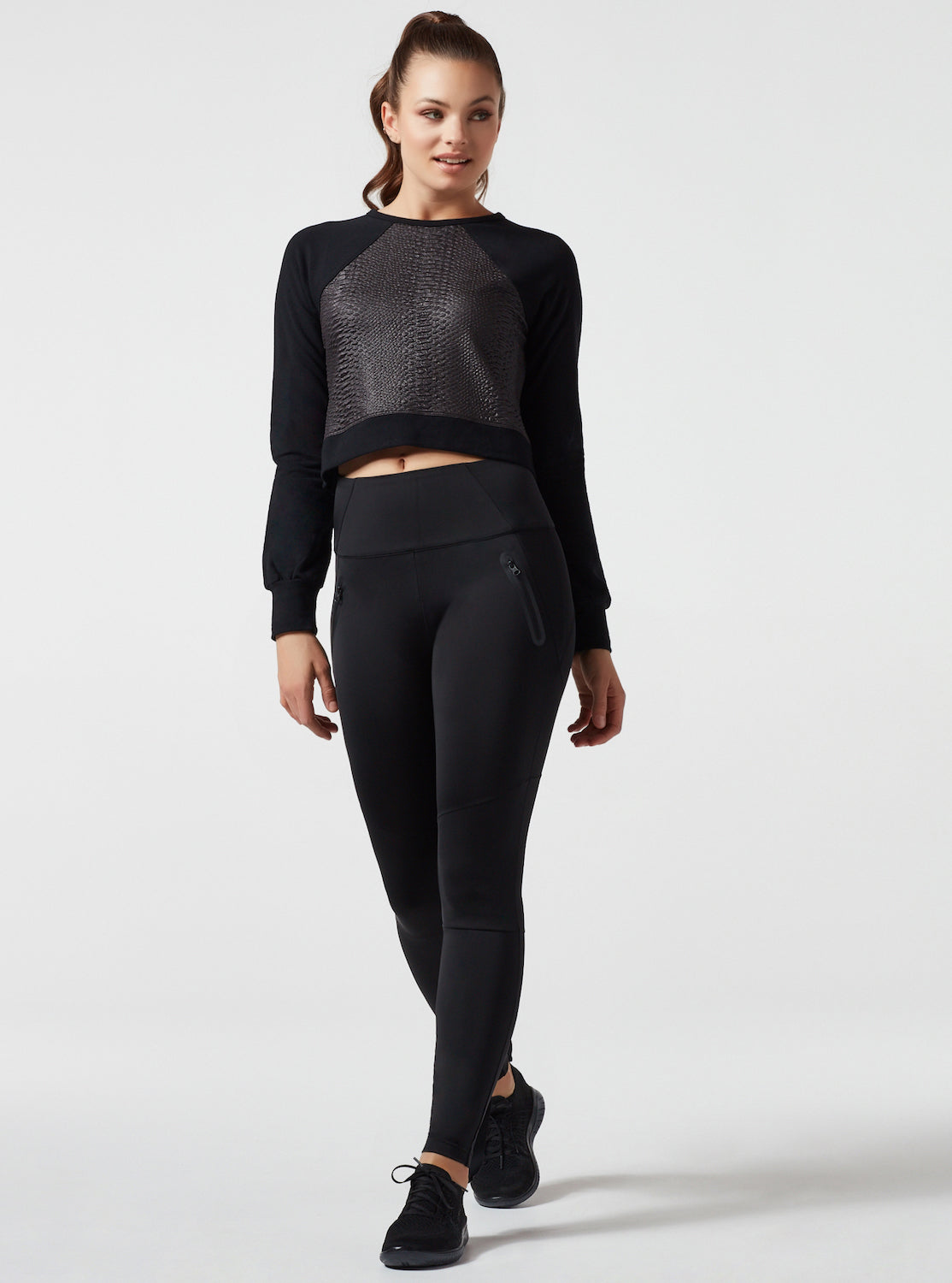 CITY SLIT BACK CROP TOP