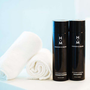 Activated Charcoal Shampoo + Conditioner Combo