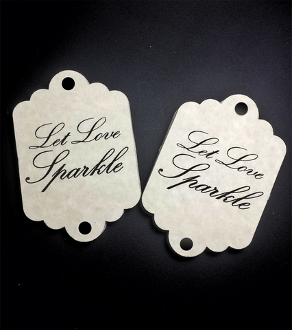wedding favor tags for sparklers