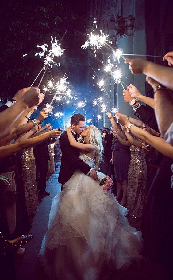 Wedding Sparklers Promotion