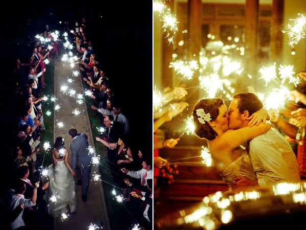 sparklers for wedding