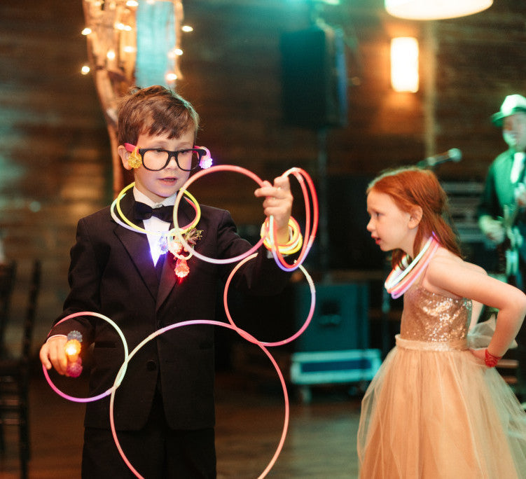 wedding glow necklaces