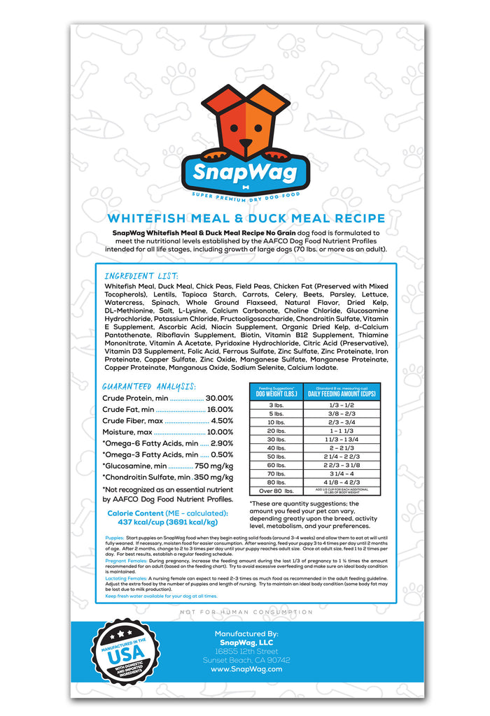 Whitefish Duck Label