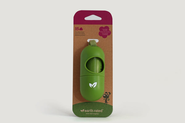 Earth Rated Doggy Poop Bags Dispenser with Bags (15 ct)