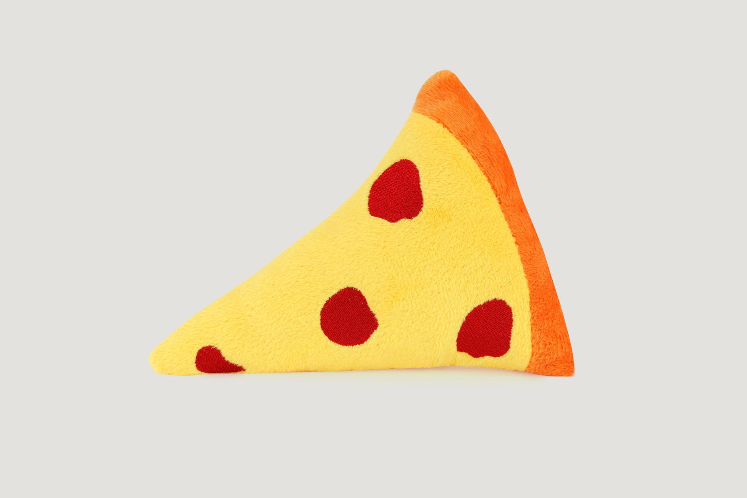Pawty Pizza Emoji Plush Dog Squeaker Toy
