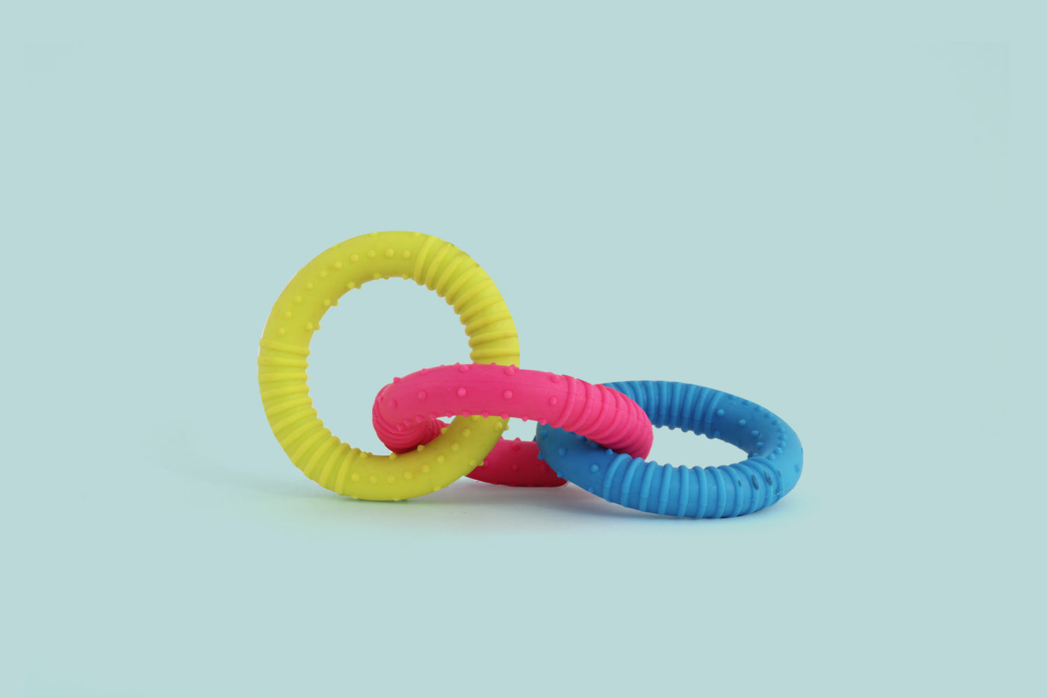 Three Rings Rubber Toy