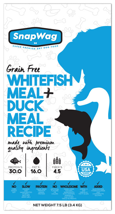 Whitefish Meal & Duck Meal Recipe