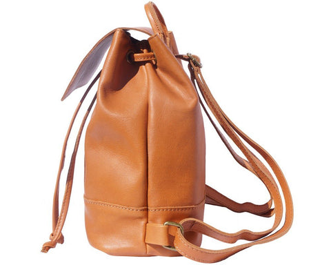 Florence Leather Backpack Carolina In Soft Cow Leather 2002 - Executive Leather