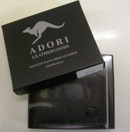 Adori Genuine Emu & Kangaroo Leather Mens Wallet EW4207