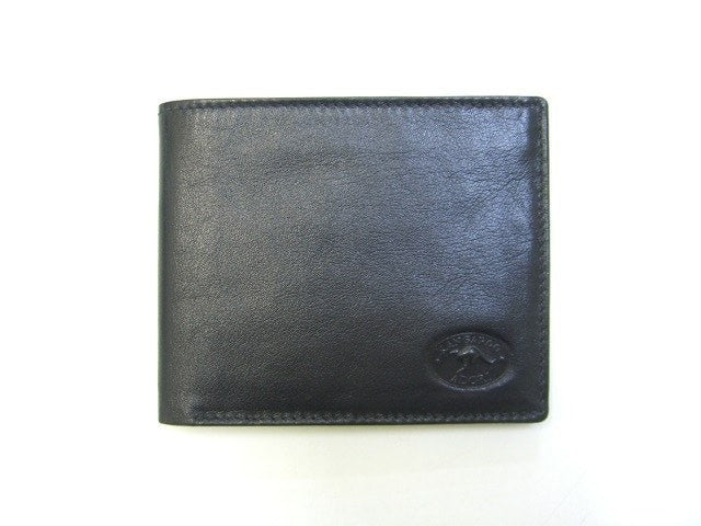 Adori Kangaroo Leather Mens Wallet with Flip Up Photo ID Section - Executive Leather