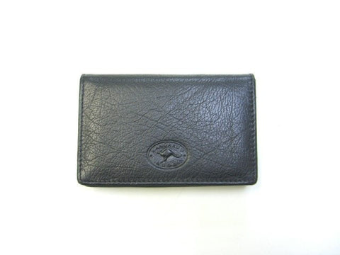 Adori Kangaroo Leather Business Card Holder - Executive Leather