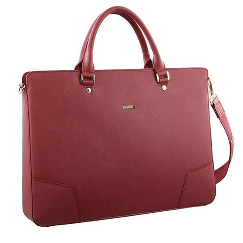 Morrissey Italian Structured Leather Laptop Bag - MO2238
